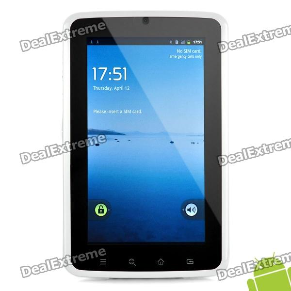"7 ""IPS Kapazitive Bildschirm Android 2.2 Tablet w / Dual-Kamera / WLAN / GPS / Bluetooth / 3G / 4G TF"