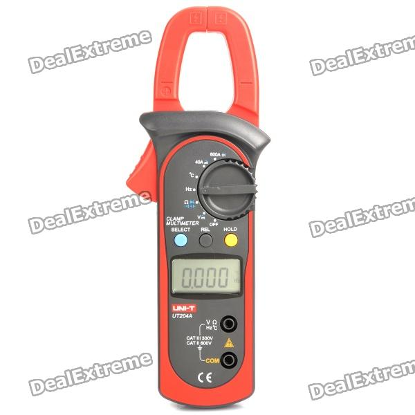 "UNI-T UT204A 1.5"" LCD Digital Clamp Multimeter (1 x 9V 6F22)"
