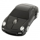 Car Porsche Style 2.4GHz 500/1600dpi Wireless Mouse w/ Mini USB Receiver (2 x AAA / 2.3~3V)