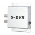 Mini S-DVR Video Recorder w/ TF Slot  - Silver (DC 12V)