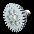 E27 7W 665LM 6000K Cool White Spot Light 7-LED Cup Bulb (AC 89-265V)