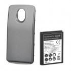 3.7V 3600mAh Extended Battery w/ Back Cover for Samsung i9250 - Black