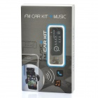 FM Transmitter w/ Car Charger for Iphone 4 / 4S - Black