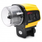 Automatic Aquarium Fish Feeder - Yellow (2 x AAA)