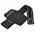 Trendy Outdoor Sports Arm Band for Samsung i9220 - Black + Greyish White