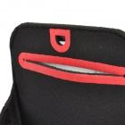 Trendy Outdoor Sports Arm Band for Samsung i9220 - Black + Red