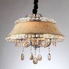 Crystal Chrome 4-light Chandelier (110-120V)