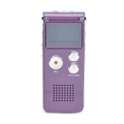 1.0&quot; LED Digital USB Rechargeable Voice Recorder w/ MP3 Player (4GB)