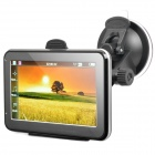 "4.3"" Resistive Touch Screen WinCE 6.0 GPS Navigator w/ FM / 4GB Europe Maps TF Card - Black (4GB)"