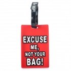 Secure Travel Suitcase ID Luggage Tag -