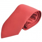 Fashion Men's Slim Necktie - Pure Red