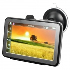 "5"" Resistive Touch Screen WinCE 6.0 GPS Navigator w/ FM / 4GB Canada Map TF Card - Black (4GB)"