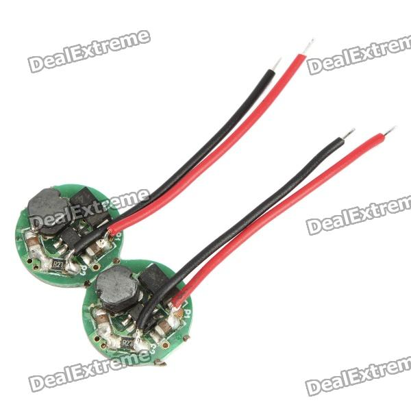 350~400mA Regulated LED Driver Circuit Board for DIY Flashlight (1.2~1.5V)