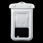 Universal Waterproof Bag with Strap & Arm Band for IPHONE / Cell Phone - White