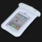 Universal Waterproof Bag with Lanyard for Iphone / Cell Phone - White