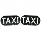 13~14LM 6000~7000K 46-SMD LED White Light Taxi Board (12V / Pair)