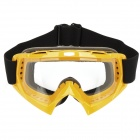 HB-157 Transparent Lens Skiing Glasses / Goggles - Yellow