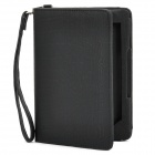 Protective PU Leather Case with 2-LED White Light for Kindle 4 / Touch - Black