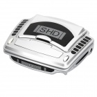 Car Fully Automatic Cigarette Lighter w/ Air Ionizer - Silver