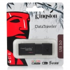 Genuine Kingston DataTraveler 100 G3 USB 3.0 Flash Drive - Black (32GB)