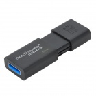 Genuine Kingston DataTraveler 100 G2 USB 2.0 Flash Drive - Black (8GB)