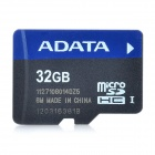 Genuine ADATA MicroSDHC TF Card - Black + Blue (32GB)