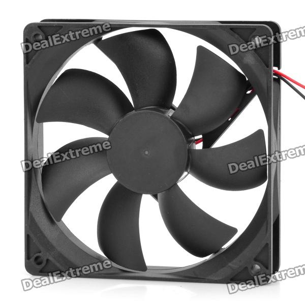 SF12025M12S DC12V 0.2A Brushless Cooling Fan - BlackHardware Cooling Gears<br>- Color: Black- Plastic material- Oil bearing- DC 12V 0.2A- Cable length: 20cm<br>