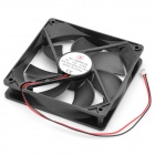 SF12025M12S DC12V 0.2A Brushless Cooling Fan - Black