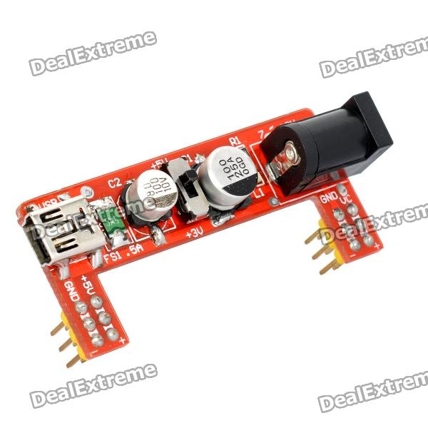 Power 3.3V / 5V Supply Module for MB102 Bread Board original used power supply board l49m2 aa fsp204 2fs01 5v 3a 12v 6