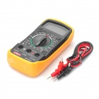 "XL830L 1.8"" LCD Portable Digital Multimeter - Yellow + Black (1 x 9V,6F22)"