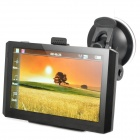 "5"" Resistive Touch Screen WinCE 6.0 GPS Navigator w/ FM / 4GB Europe Maps TF Card - Black (4GB)"