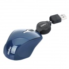 Rapoo N6700 USB 1.1 1000dpi Optical Mouse - Deep Blue