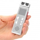 "1.0"" LCD Voice Recorder with MP3 Music Player (8GB)"