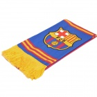 Football / Soccer Team Emblem Scarf - Barcelona Team