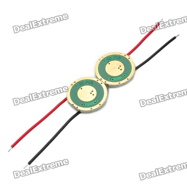 Regulated Led Driver Circuit Board For Diy Flashlight 153v Pair
