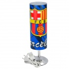 Barcelona Football Team Badge Cover Light Bulb Desktop Lamp - Blue + Yellow (220V / EU Plug)