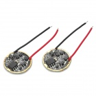 3.7~4.25V 5-Mode Regulated LED Driver Circuit Board for DIY Flashlight (Pair)