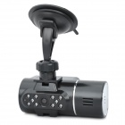 "Dual Lens Wide Angle Car DVR Camcorder w/ 14-IR LED / TF (2.0"" TFT LCD)"