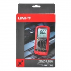 "UNI-T UT106 2.9"" LCD Digital Multimeter - Red + Grey (1 x 9V 6F22)"