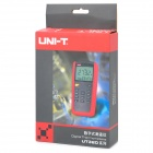 "UNI-T UT325 2.8"" LCD Digital Thermometer - Black + Red (1 x 9V)"