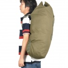 Outdoor Military Duffle Bag Backpack - Army Green