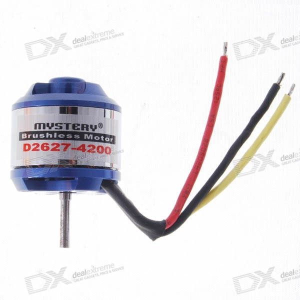 Mystery Brushless Electric Motor for R/C Models (11.1V 4300rpm)