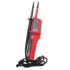 "UNI-T UT15C 1.1"" LCD Digital Voltage Tester - Black + Red (2 x AAA)"