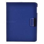 Protective 360-Degree Rotation Holder Smart Cover Case for New iPad - Blue