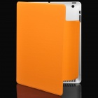 Protective 360-Degree Rotation Holder Case for New iPad - Orange