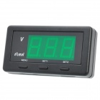"1.6"" LED Car Head-Up Voltage and Speed Display - Black"