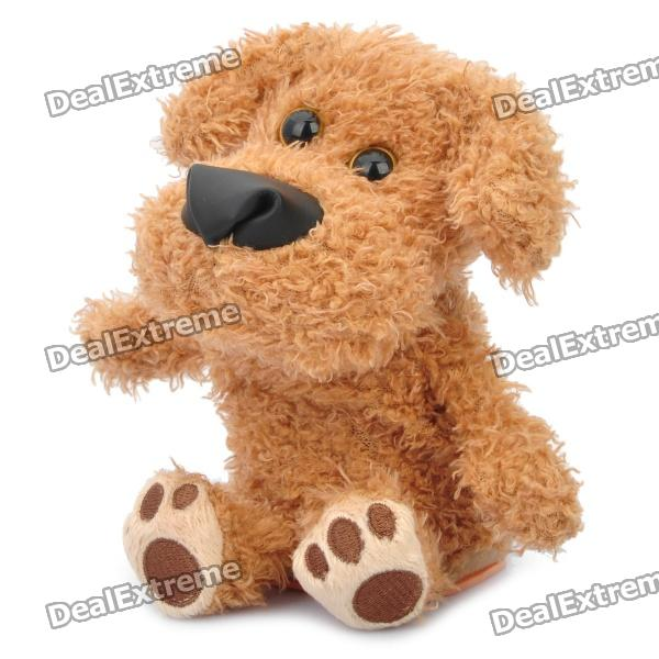 Cute Talking Mimicry Stuffed Dog Pet - Brown (3 x AAA) от DX.com INT