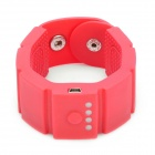 Universal Silicone Wrist Watch Style 1500mAh Mobile Power Battery Charger w/ 8 x Adapters - Red