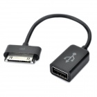 USB OTG Adapter Cable for Samsung Galaxy Tab P6800 / P6810 / P6200 / P6210 - Black (85mm)