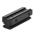 11mm to 21mm Gun Rail Dovetail Adapter - Black